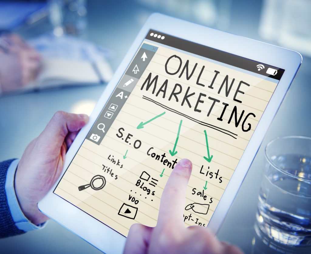 have a strong online presence
